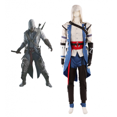 Assassin's Creed Connor Assassin Uniform cosplay costume comes from www.eshopcos.com