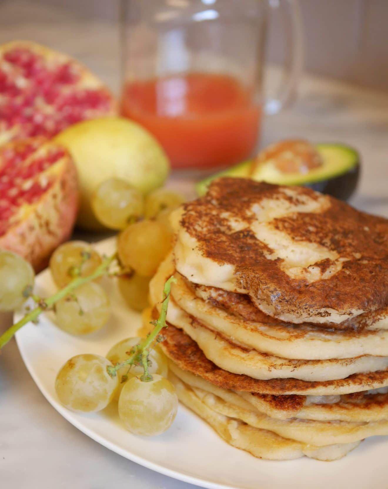 Pancakes à la semoule   Recette   Pancakes, Idée recette ...