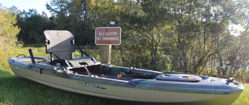 On The Water Review Pelican Catch 120 Kayak Small Boat