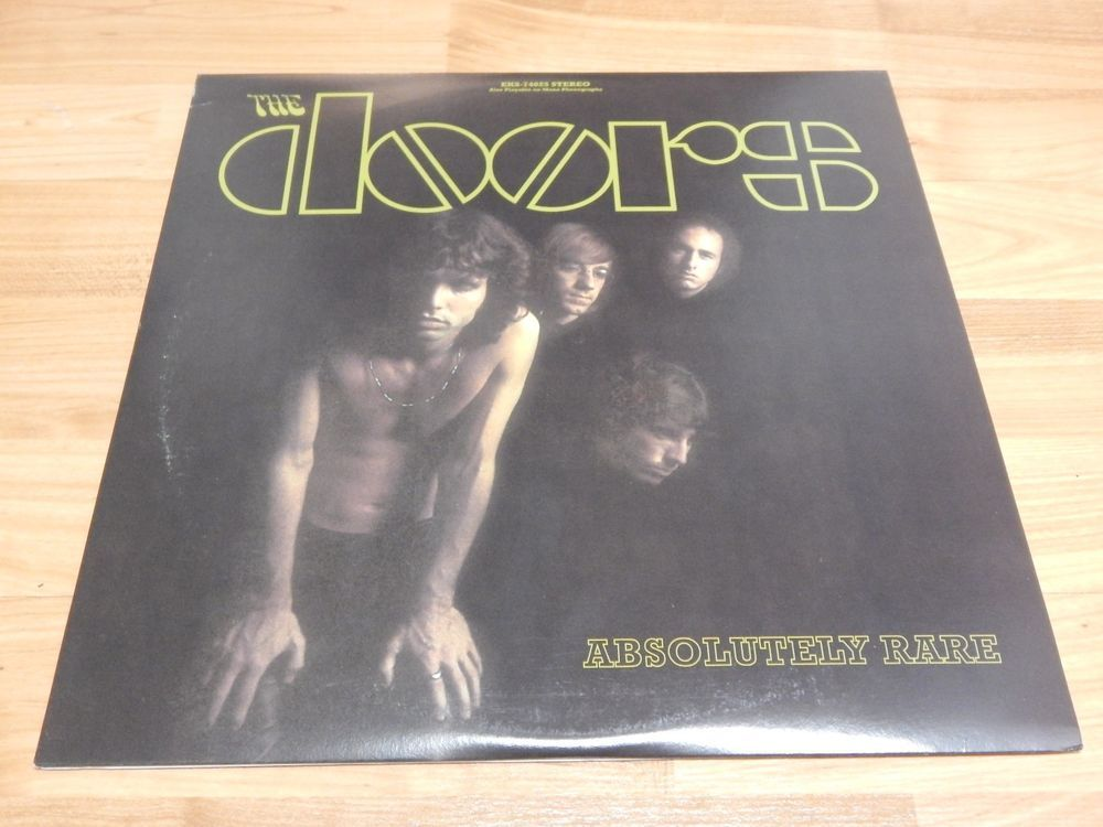 Absolutely Rare - The Doors 2 LP collection of various