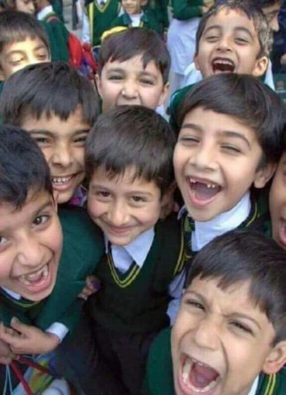Selfie of the year; their smiles more powerful than the guns of cowards. Never Forget our resolve to fight terrorism; educating every last child in Pakistan is at the forefront of our resolve to fight militancy and crush it's narrative.