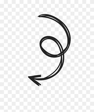 Swirling Arrow Illustration Arrow Drawing Sketch Arrow Sketch Angle Pencil Text Png Tanda Panah Gambar Bingkai