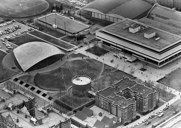 Aerial Of MIT 1969 Boston area, Massachusetts, Boston