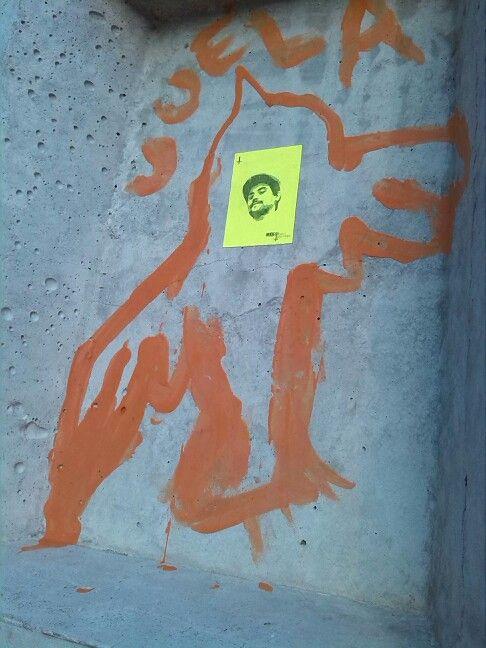 Mi artista en las calles de Cuenca. Gracias