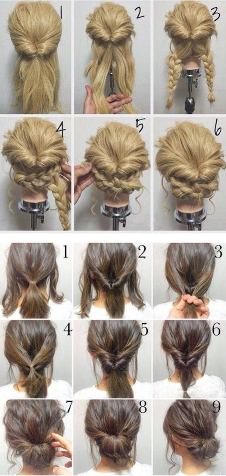 Best 60 Diy Cool Hairstyles You Can Do At Home Page 2 Chic Cuties Blog Easy Hairstyles Diy Hairstyles Diy Hairstyles Easy