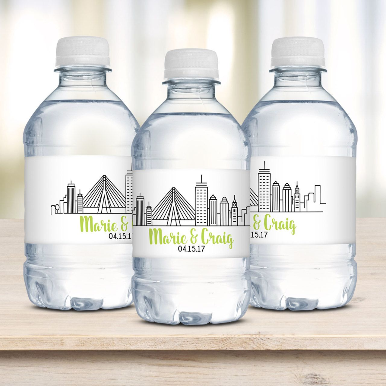 Famous Water Bottle Wedding Favors Illustration - The Wedding Ideas ...