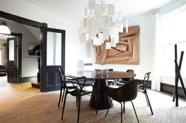 107 idées fantastiques pour une salle à manger moderne Design