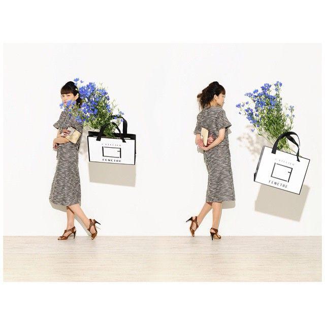 directed by DILIGENCE PARLOUR  top / L'atelier Fenetre ¥21,000+tax skirt / L'atelier Fenetre ¥23,000+tax shoes/ MICHEL VIVIEN ¥71,500+tax