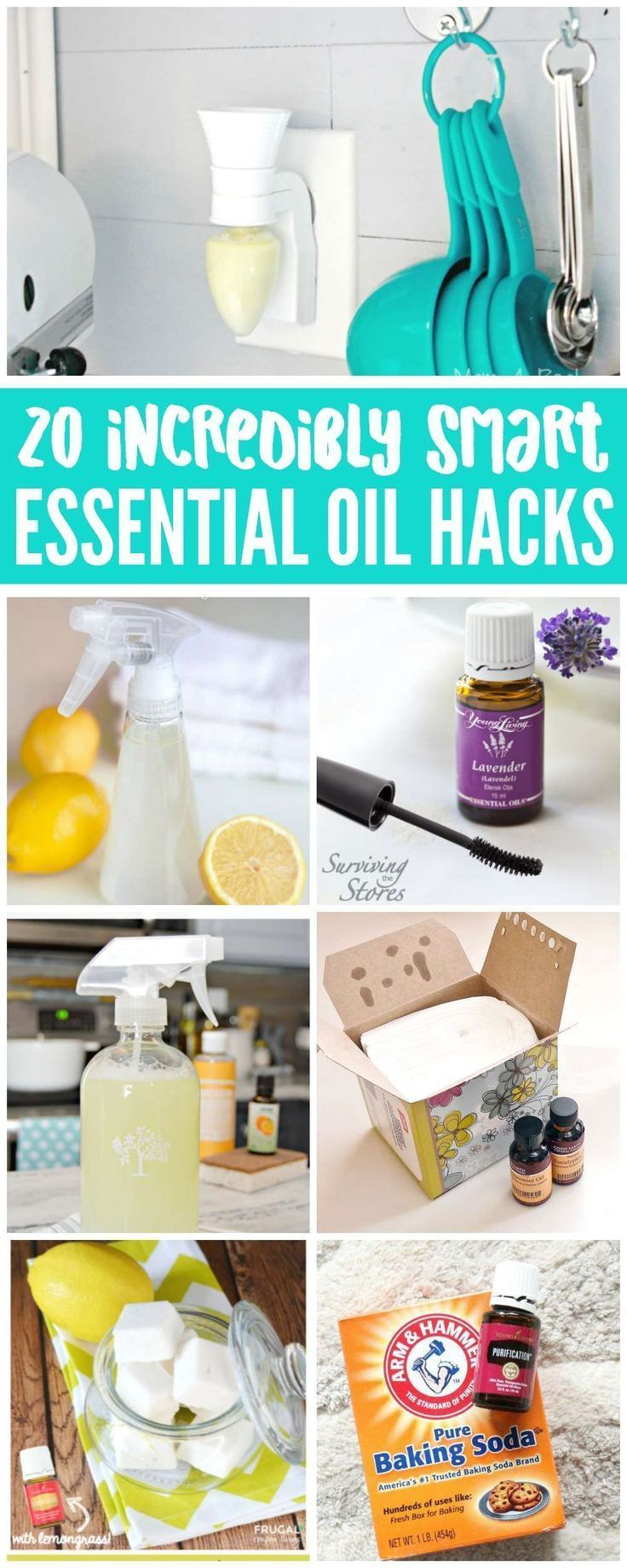 Essential Oil Cleaning Hacks that will make your life easier, clean ...