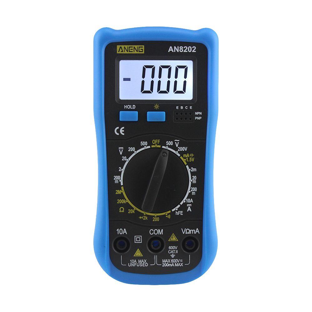 Aneng An8202 Digital Multimeter Lcd Digital Multimeter Dc Ac Voltage Diode Freguency Multitester Multimeter Digital Diode