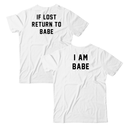 If Lost Return To Babe I Am Babe Couples Set Anniversary Gift Gift For Him Gift For Her Boyfr Girlfriend Gifts Boyfriend Gifts Gifts For Your Boyfriend