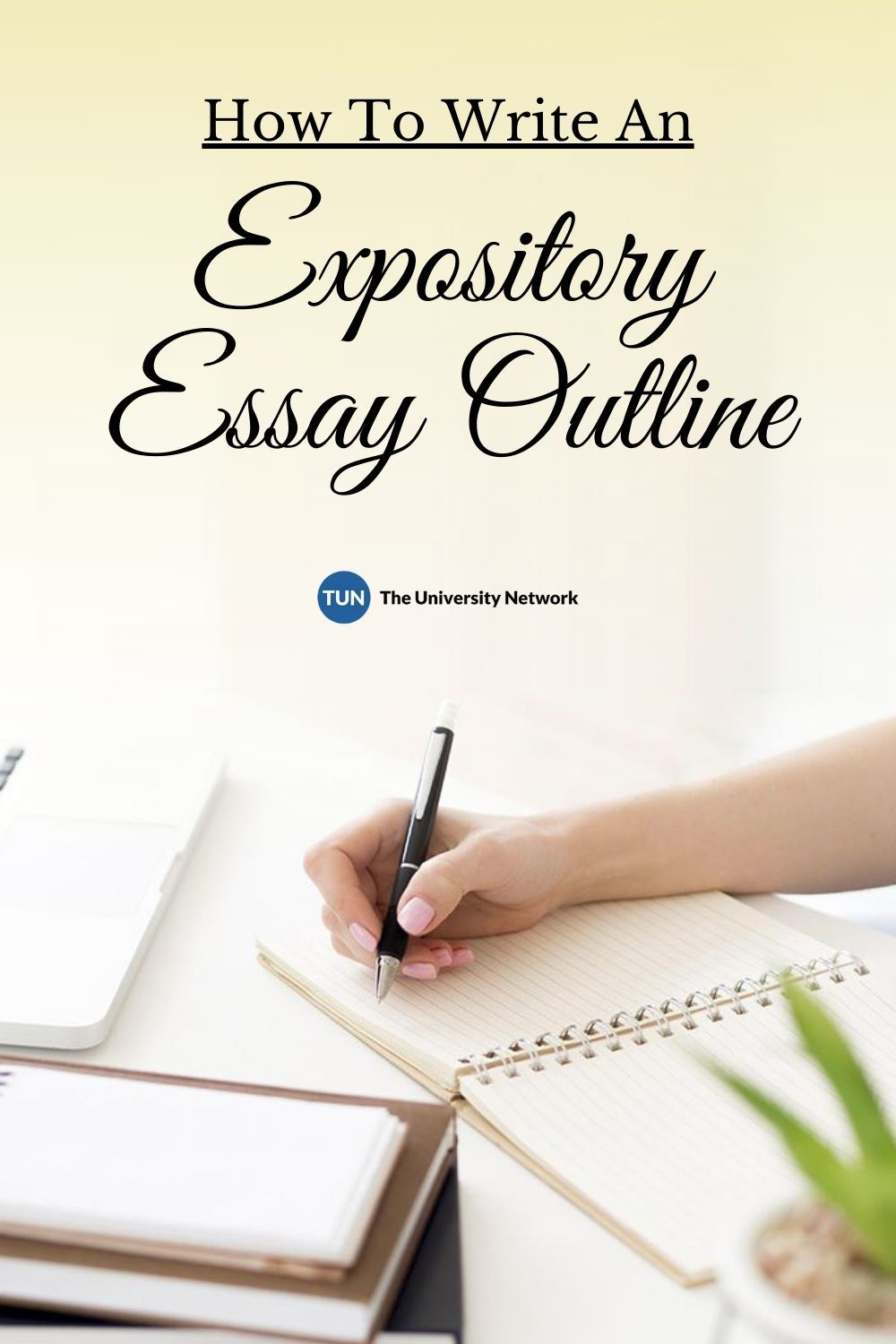 how to write an expository essay outline  the university