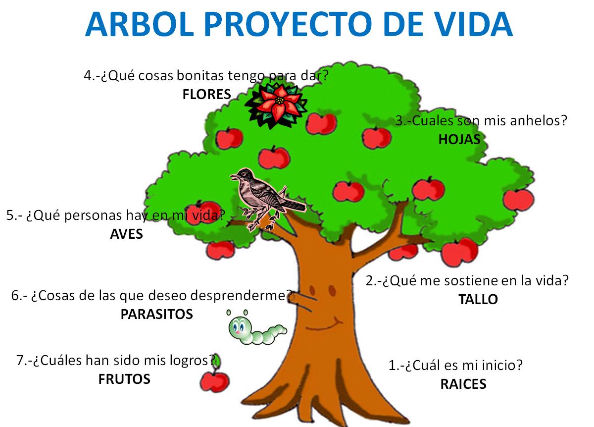 Arbol Proyecto De Vida Zona De Reflexi N Pinterest