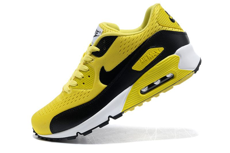outlet store bb805 7346a Nike Air Max 90 EM Yellow Black womens
