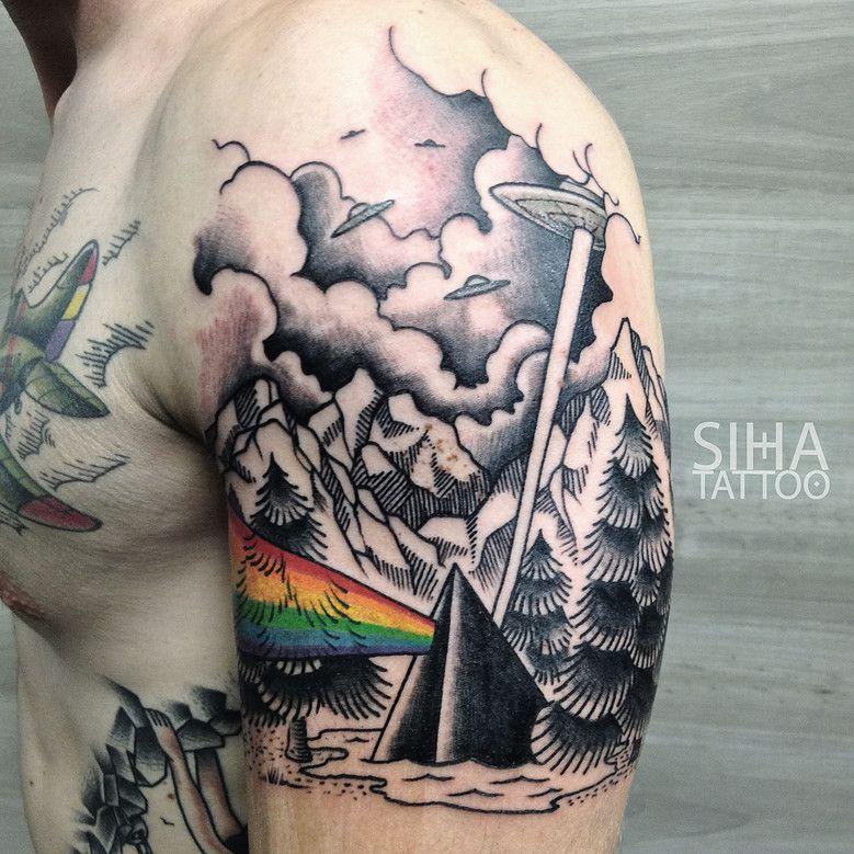 George Floyd Chest Tattoo: Best Pink Floyd Tattoos Ever- Part 1 (75 Tattoos)