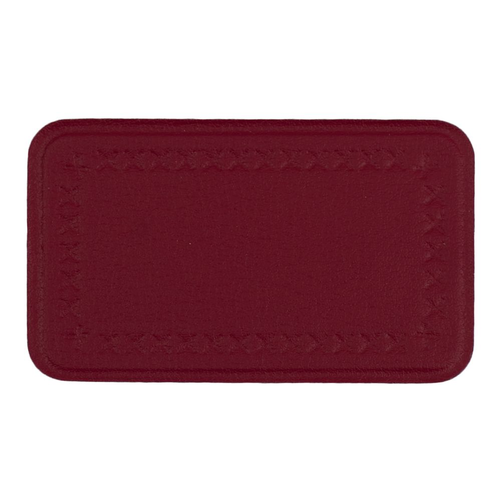 This Medium Sized Rectangular Patch Has An Embossed Sch Design Around Edge That Works Well On Sofas Chairs And Stools Also Comes In Our