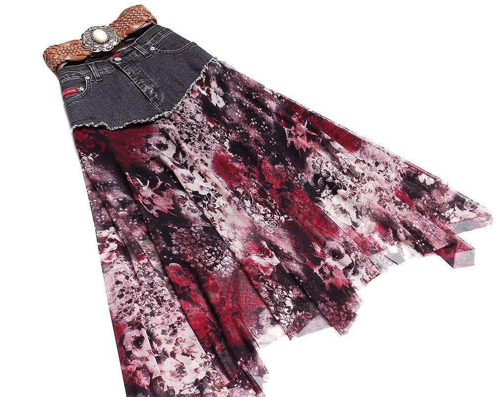 Spencer Spodnica Na Karczku Jeans Szyfon 36 38 M 7339083193 Allegro Pl Wiecej Niz Aukcje Outfits Cute Outfits Cute