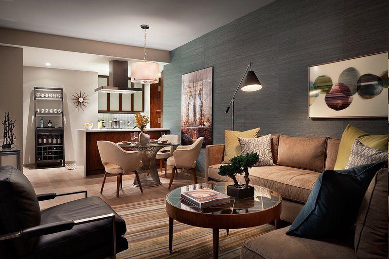 Elegant Eclectic Manhattan Apartment U2013 Terrat Elms Interior Design   Living /  Dining Details