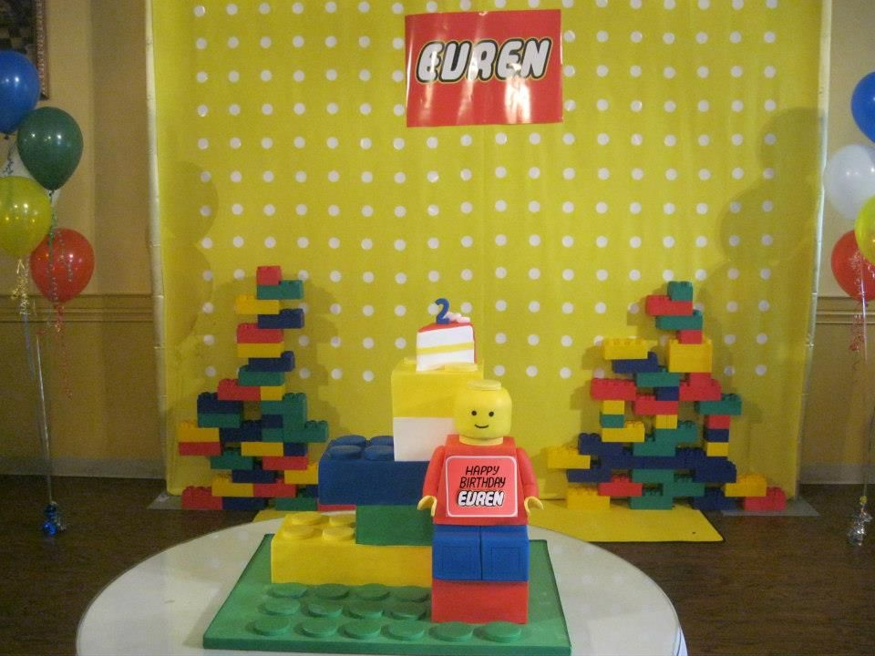 Lego Backdrop Made For Evren's Birthday At Rinag Banquet Hall In Fascinating Design And Decor Ottawa