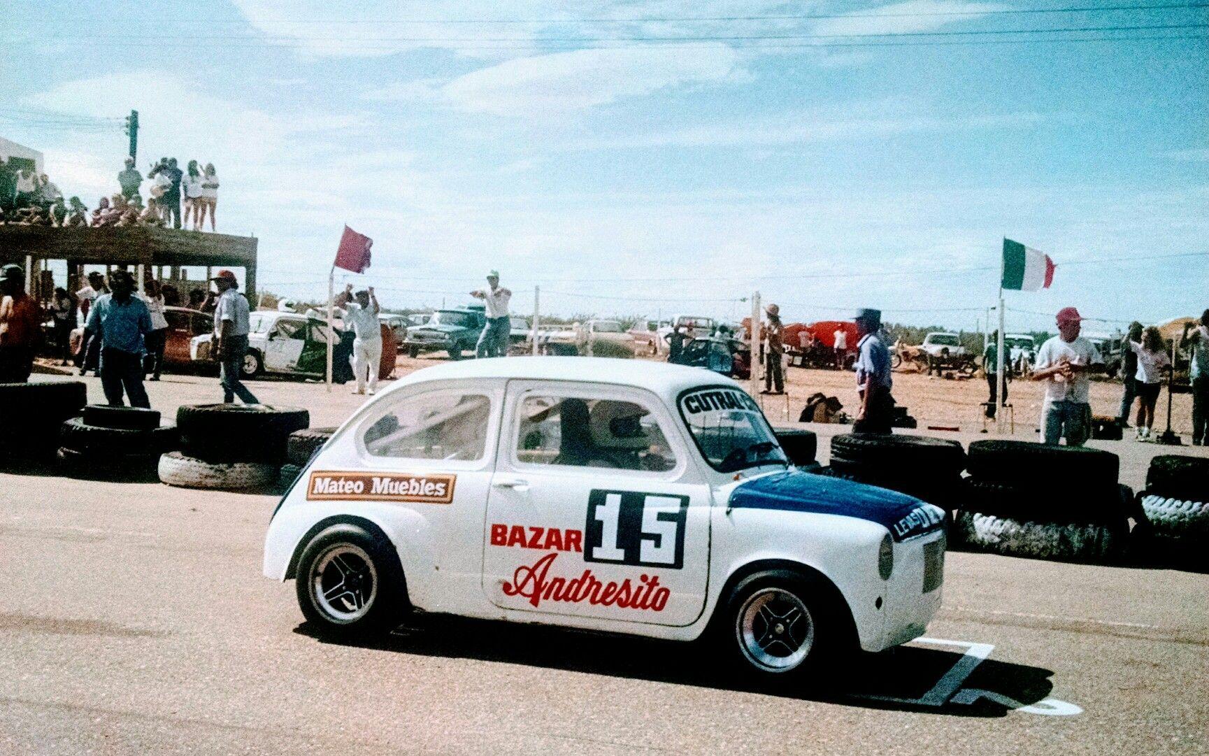 Largamos En El Segundo Lugar Fiat 600 Petrolera 850cc  # Mateo Muebles Cutral Co