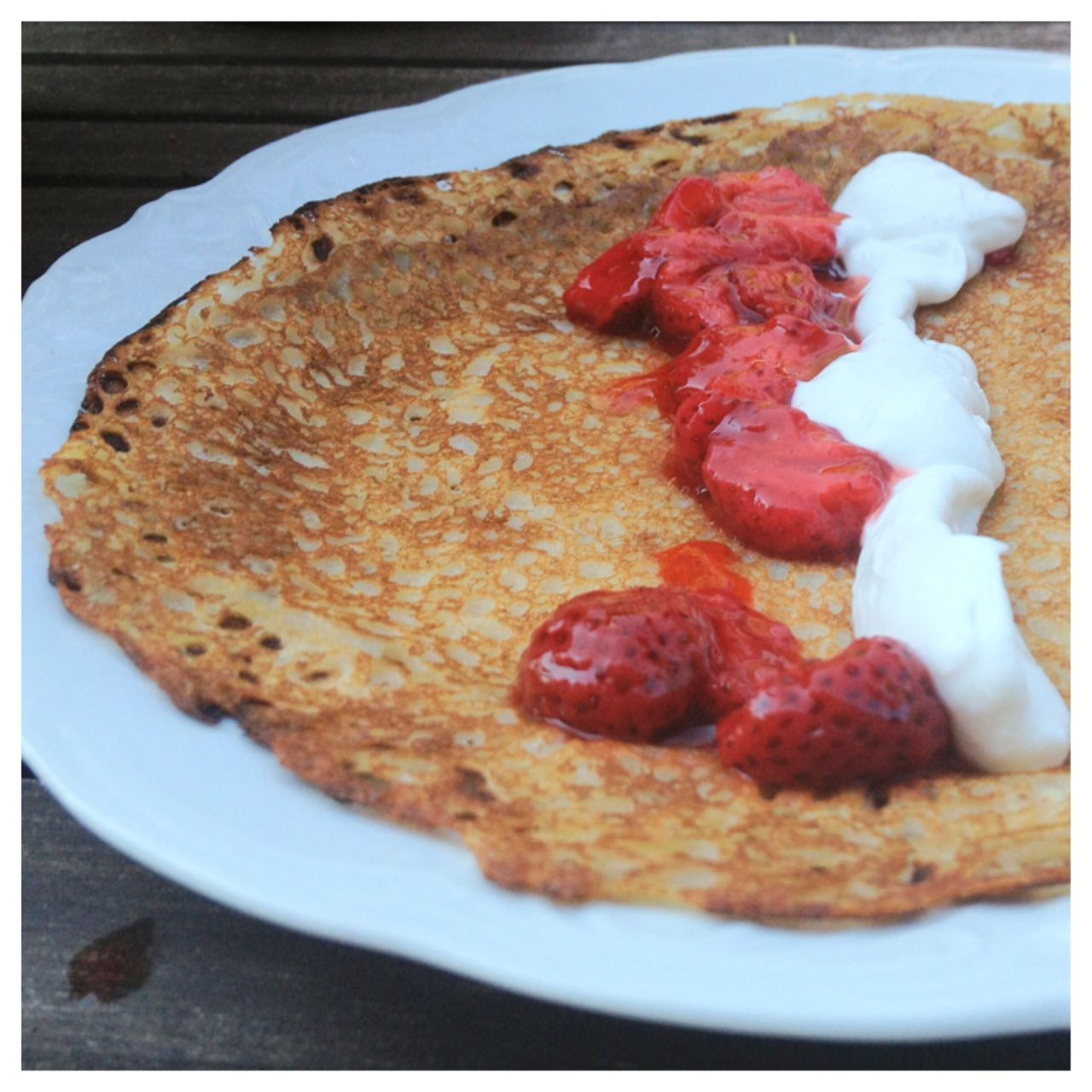 Egg, gluten and dairy free crepes