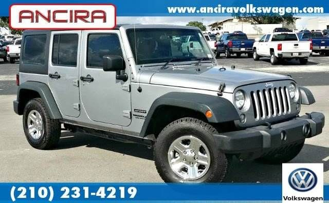 Used 2015 Jeep Wrangler Unlimited Sport Right Hand Drive 4x4 4wd