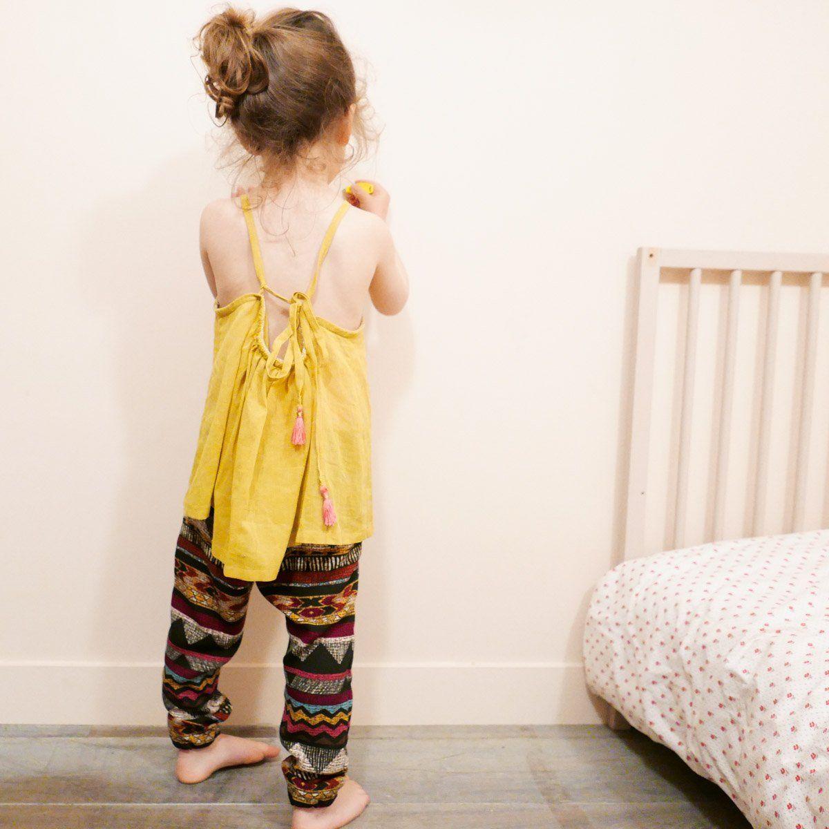 Pochette patron de couture DAKAR Pantalon ou Short Enfant