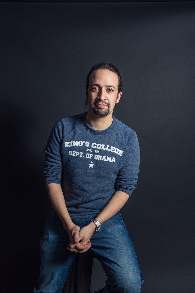 This is Lin-Manuel Miranda. Es un compositor, guionista, rapero y actor puertorriqueño más conocido por crear y protagonizar los musicales de Broadway En las Alturas y Hamilton.