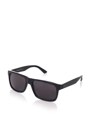 a4e680d85f23 Emporio Armani Men s 9880 Sunglasses (Black)