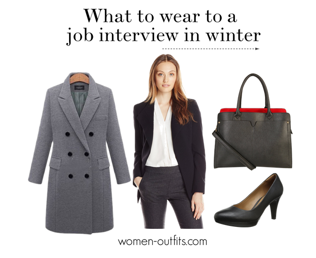 what to wear for job interview in winter
