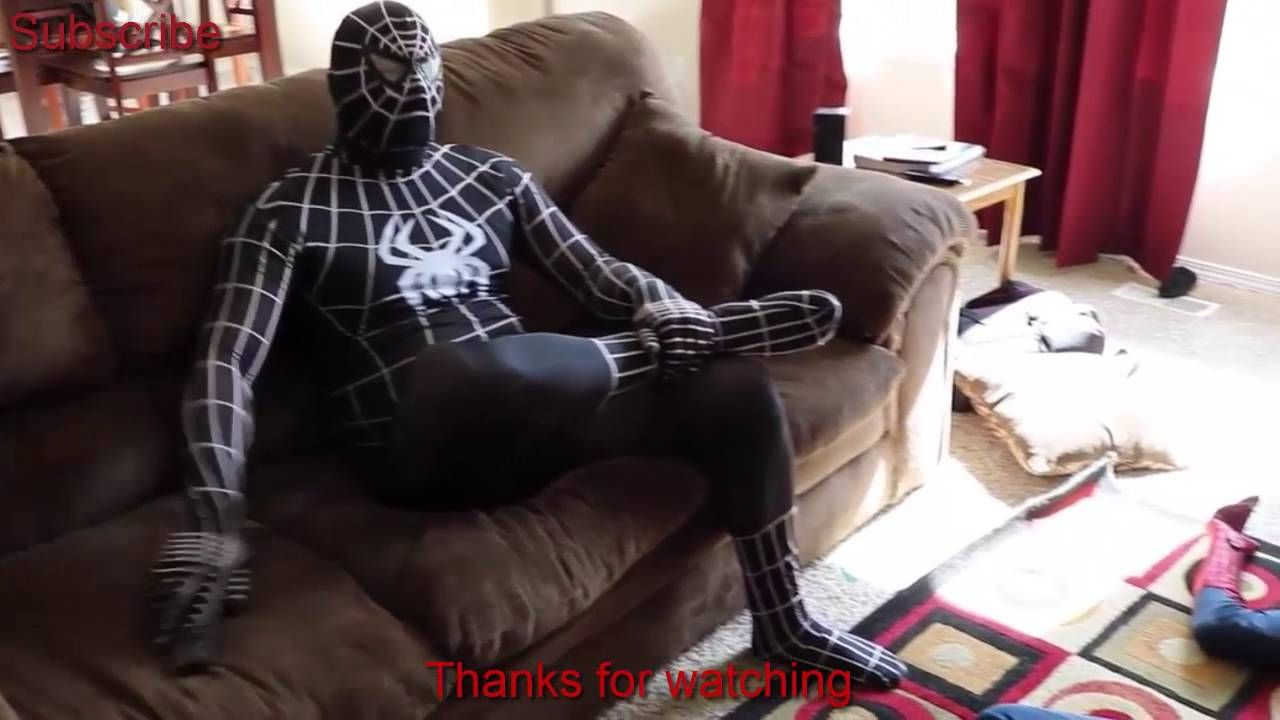 BLACK SPIDERMAN VS WHITE SPIDERMAN - IN REAL  LIFE |  SUPERHERO FIGHT||