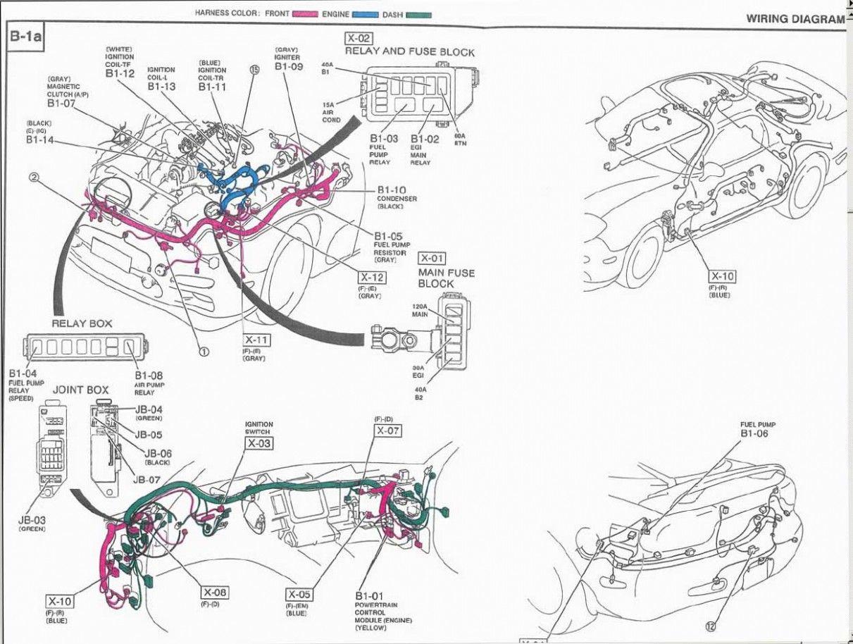 Fd Rx6 Engine Harness Diagram di 2020