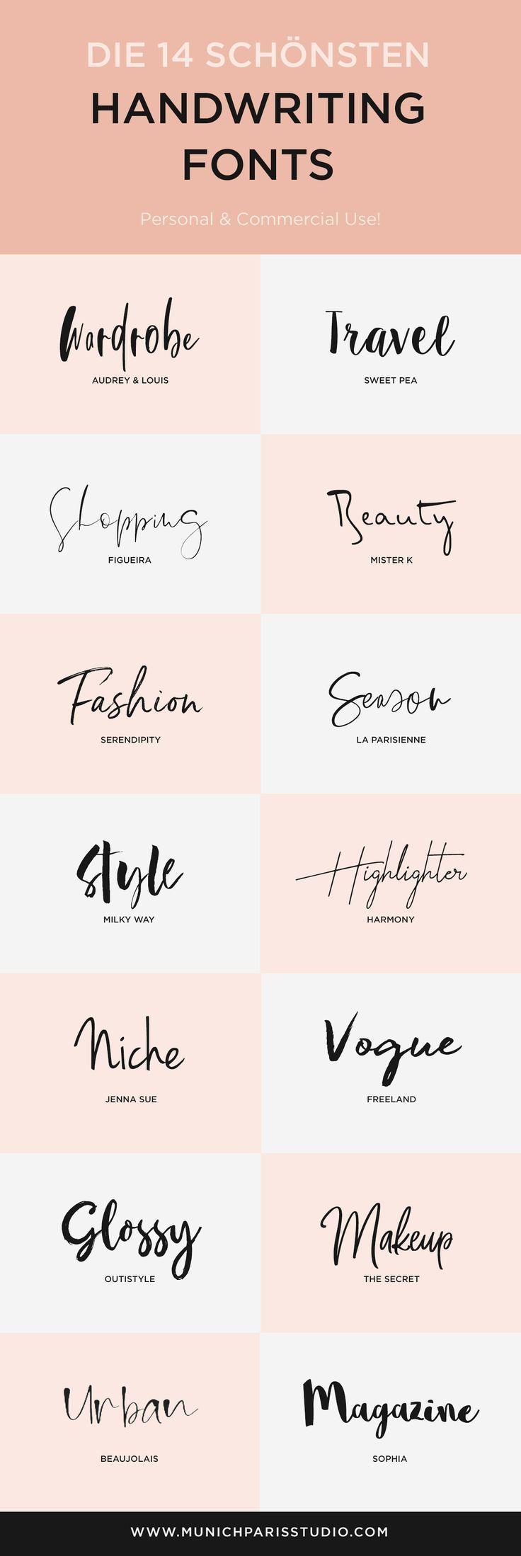 Photo of The 14 most beautiful manuscript fonts to download MunichPa …