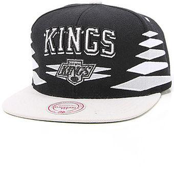 027e546121a Mitchell   Ness The Los Angeles Kings Diamond 2tone Snapback Cap - Lyst