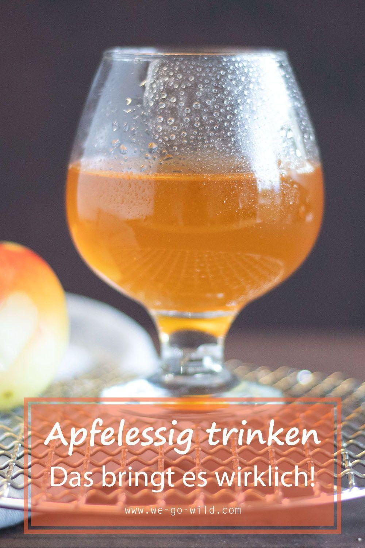 Apfelessig Abnehmen Abends