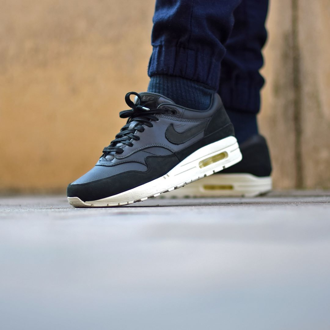 NikeLab Air Max 1 Pinnacle Black Anthracite . Disponible/Available:  SNKRS.COM
