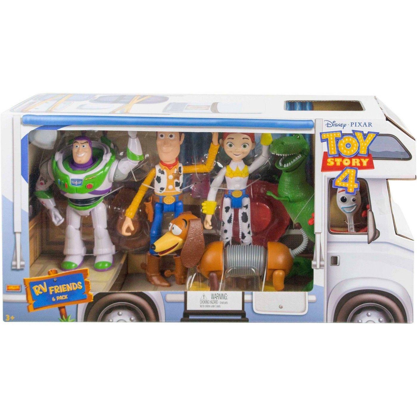 Disney Pixar Toy Story Rv Friends 6pk Figures Disney Pixar Pixar Toys Toy Story