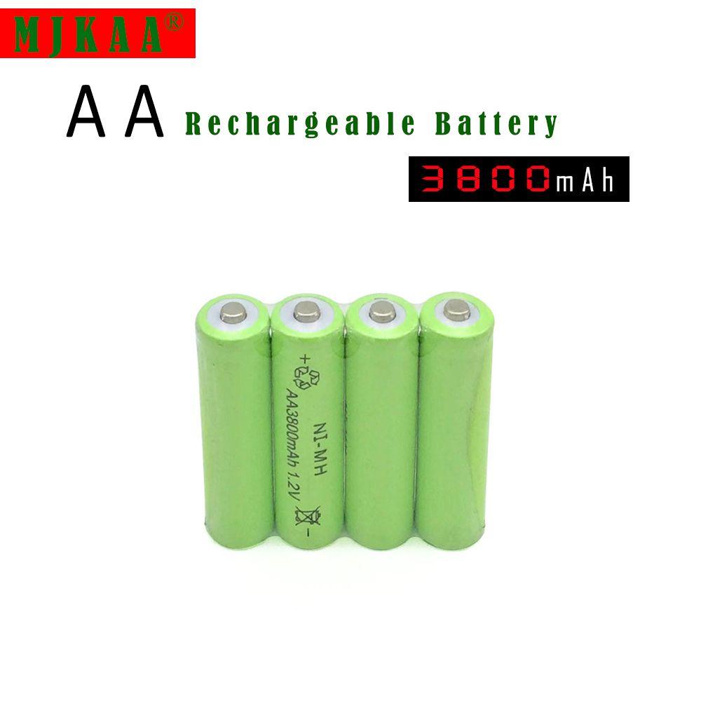 20pc A Lot Ni Mh 3800mah Aa Batteries 1 2v Aa Rechargeable Battery Ni Mh Battery For Camera Toys Rechargeable Batteries Toy Camera Rc Toys