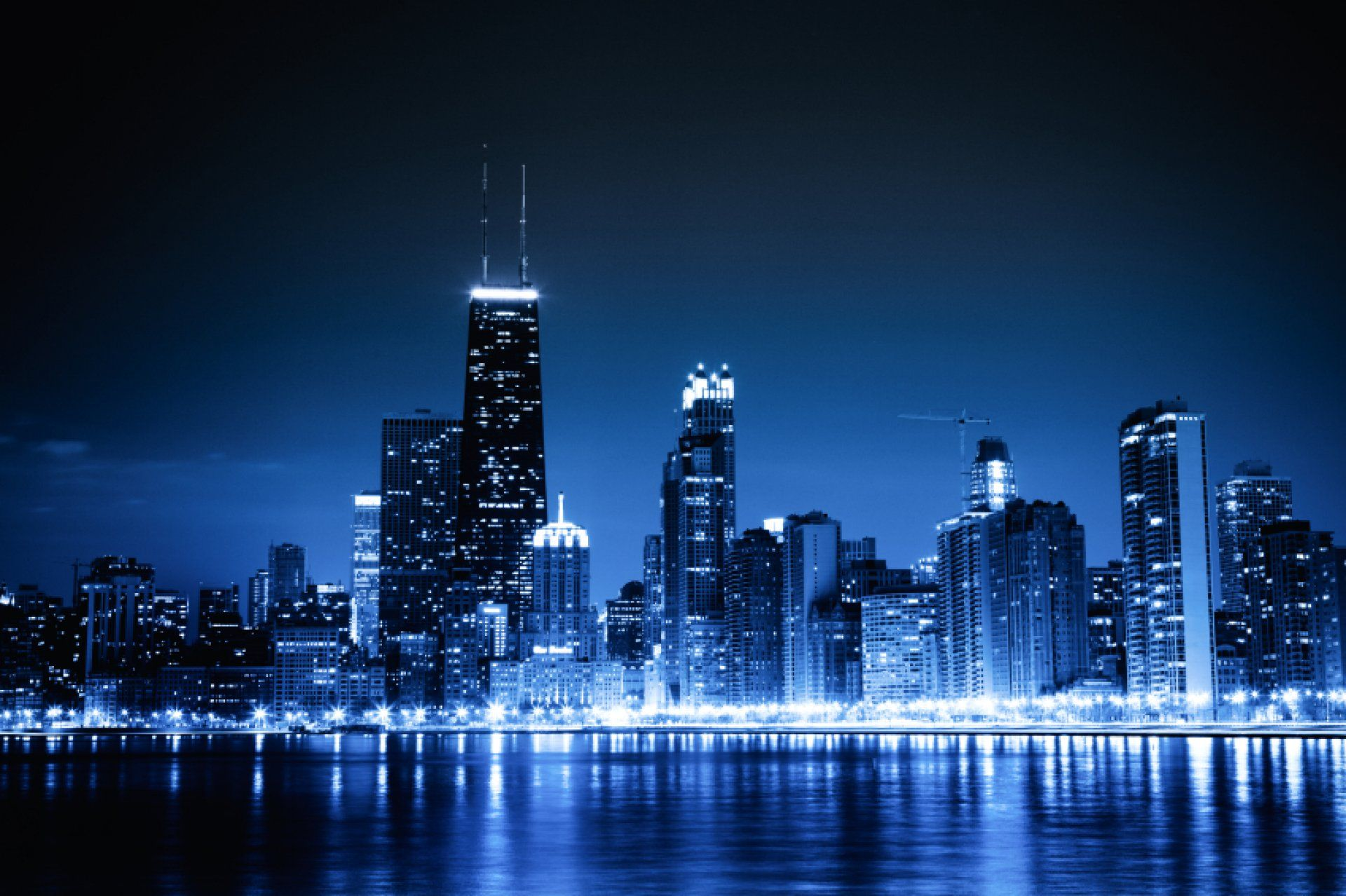 Chicago Skyline Wallpaper For Windows QbV