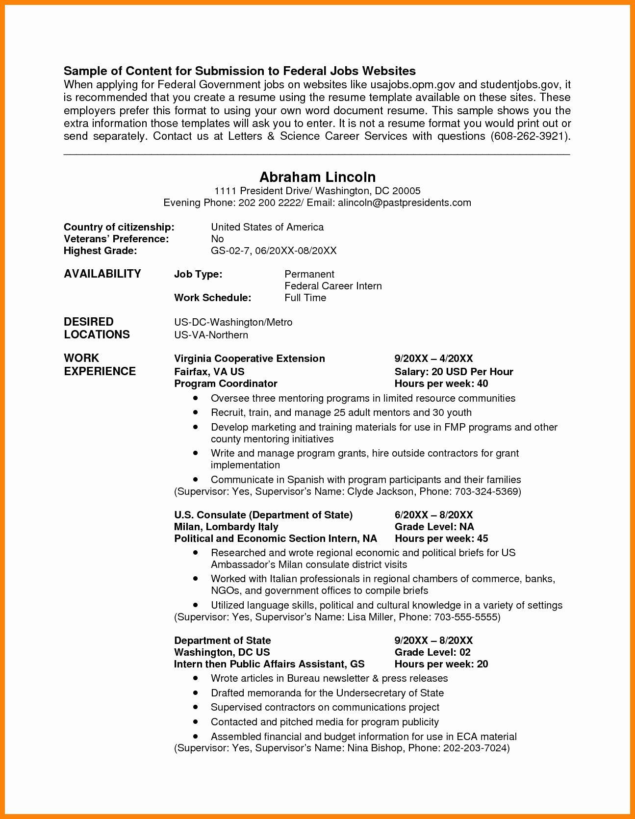 resume format usa jobs format resume resumeformat