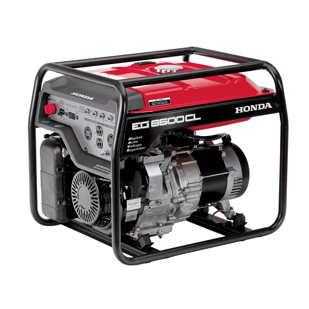 Honda Generator EG6500 Economy Series Honda generator