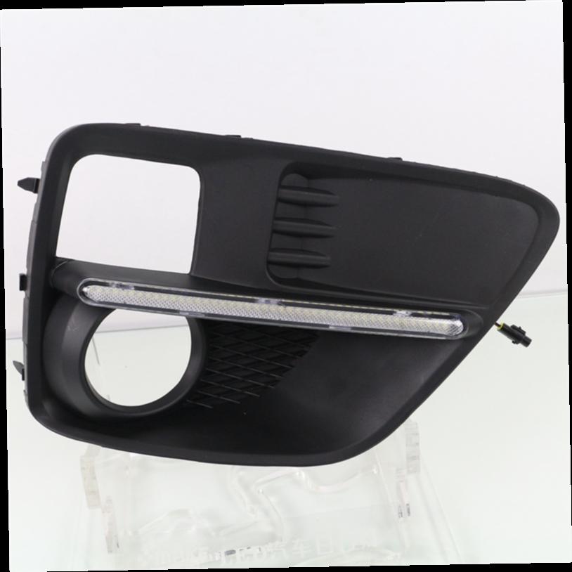 102.00$  Buy here - http://ali0d1.worldwells.pw/go.php?t=32724404926 - LED DRL for Subaru WRX 2015 2016 2017 daytime running light bumper fog light cover driving lamp  102.00$