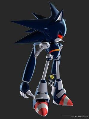 Mecha Sonic Sonic Sonic The Hedgehog Hedgehog Art