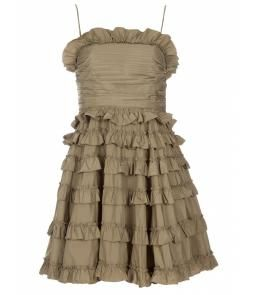 RED VALENTINO Frill dress @Pascale De Groof
