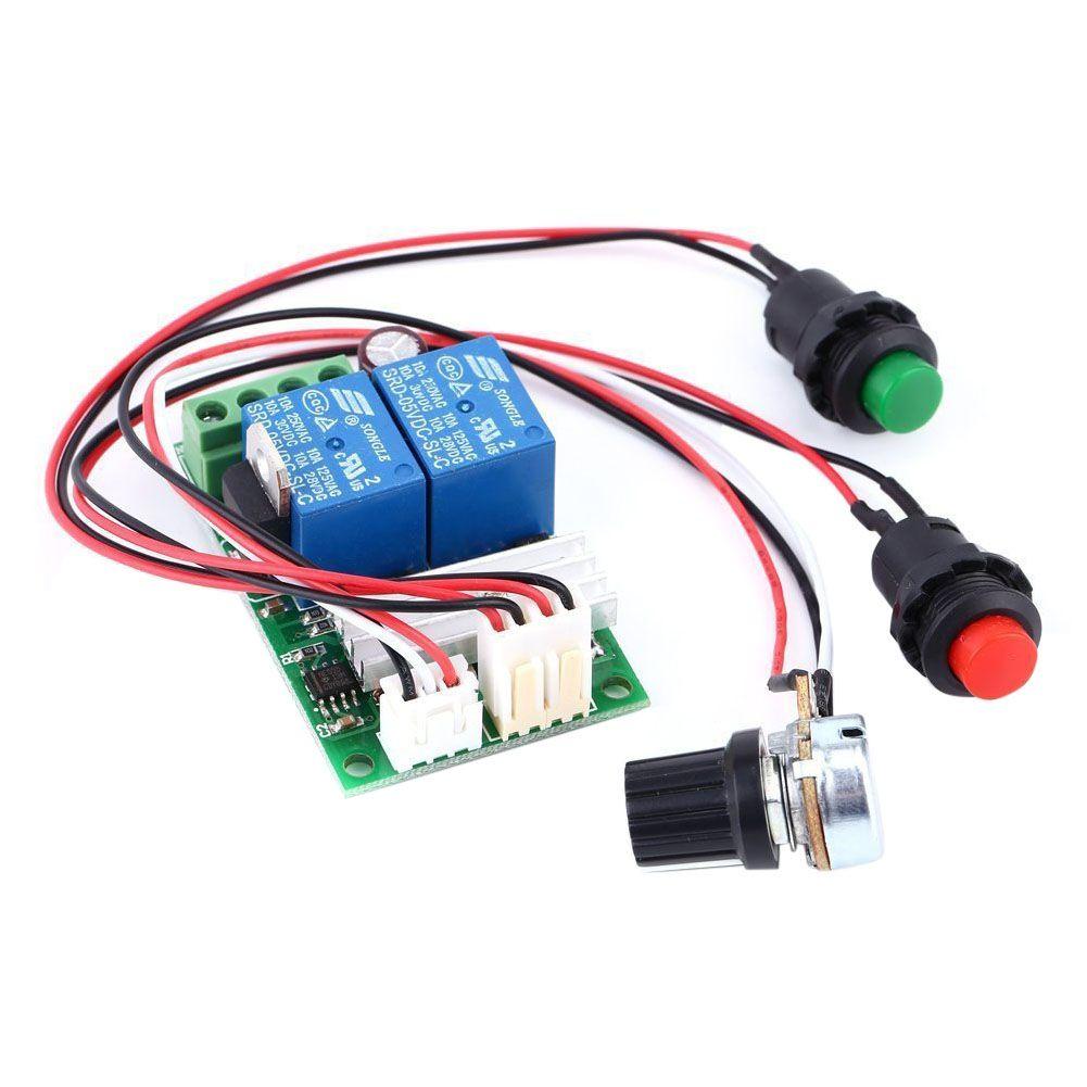 6V 12V 24V DC 3A DC Motor Speed Controller (PWM) Speed Adjustable ...
