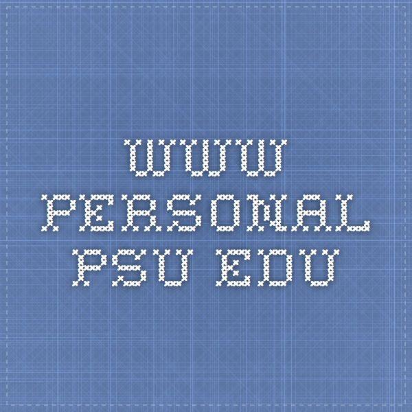 www.personal.psu.edu