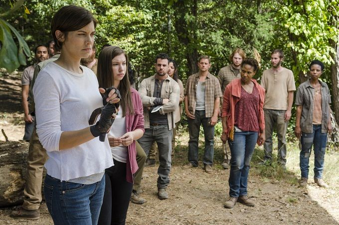 The Walking Dead Advance Anteprima The Other Side Foto Video Tv Geek Conversazione Walking Dead Season The Walking Dead Twd
