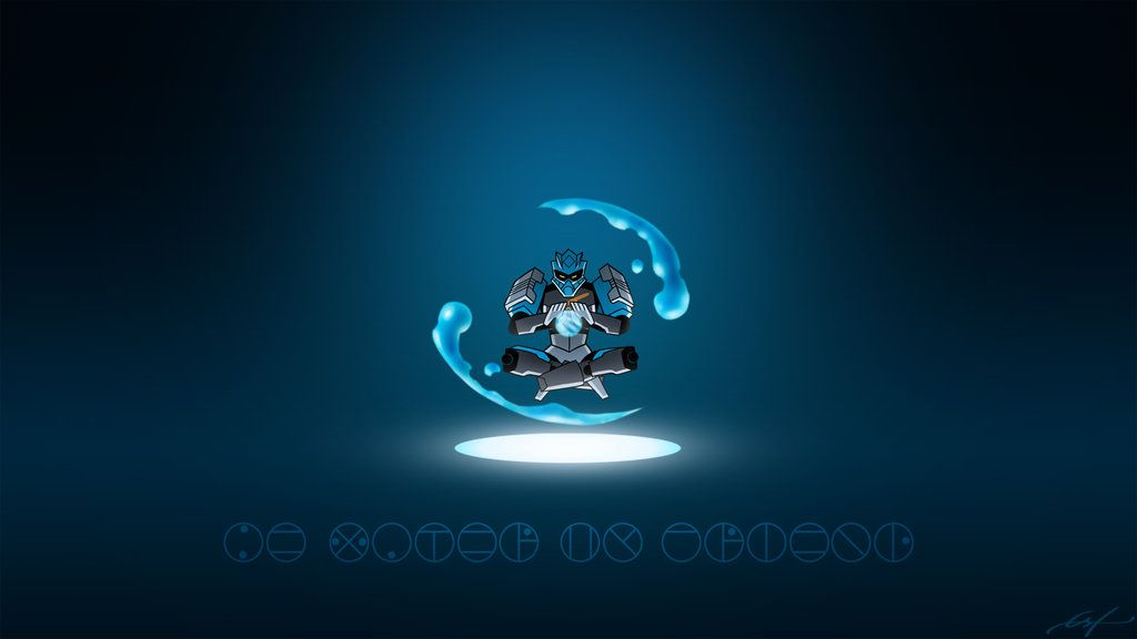 Gali 2015 Animation Wallpaper By Ferain On Deviantart Bionicle Lego Art Blue Background Wallpapers