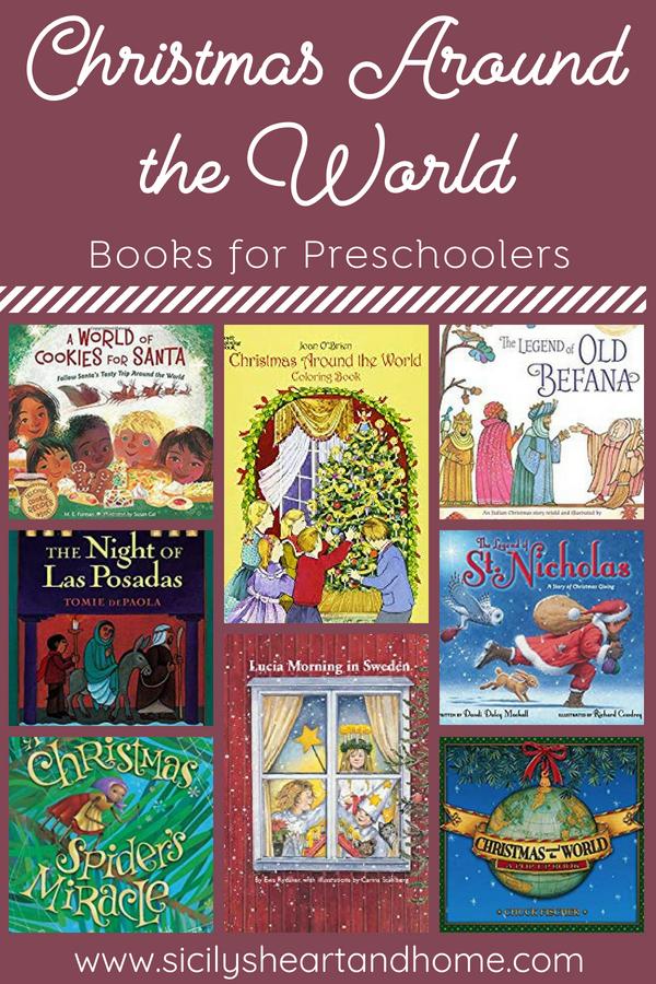 Christmas Around the World Book List Around the world
