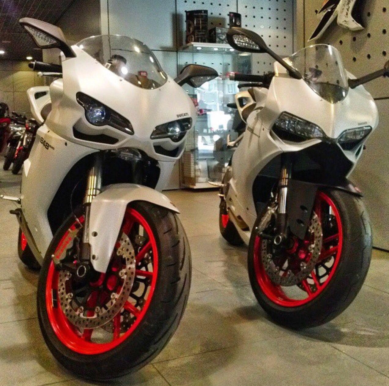 Ducati 848 Evo And Ducati 899 Panigale